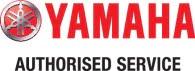 Yamaha Authorised Service Logo Horizontal
